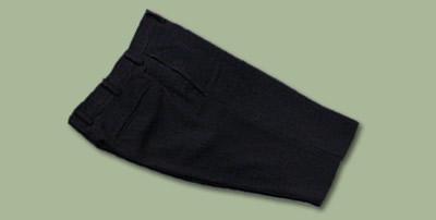 ブラックスーツのスラックス