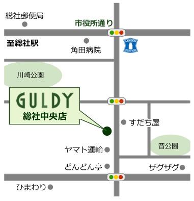 ガルディ総社中央店地図